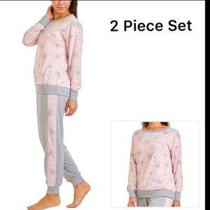 Splendid Westport pink grey Loungewear set PJ set